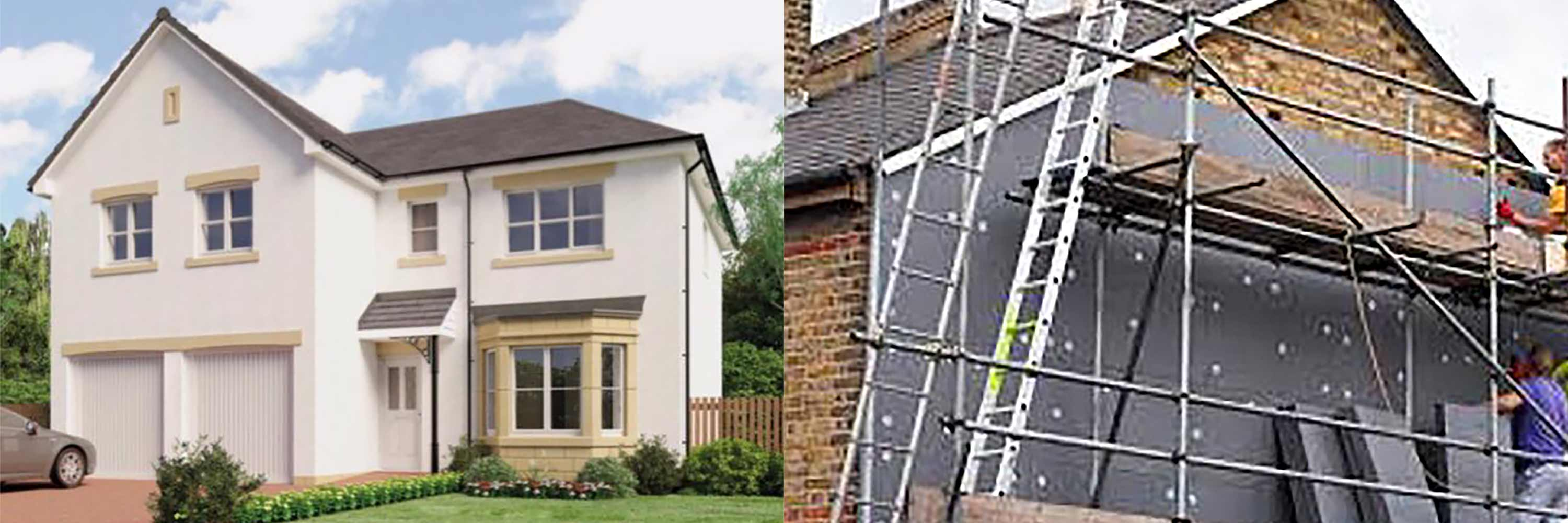 Solid Wall Insulation Services by Origin UK Energy Services Ltd in Derby